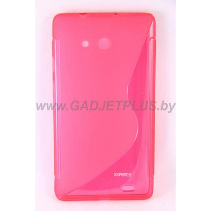 Huawei Ascend Mate 6.1 чехол-бампер силиконовый Experts