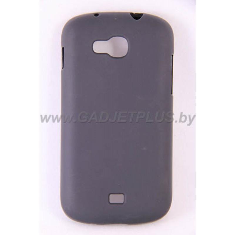 Samsung Galaxy Axiom (SCH-R830) чехол-бампер силиконовый JUST