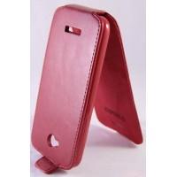 HTC Desire 616 чехол-блокнот красный