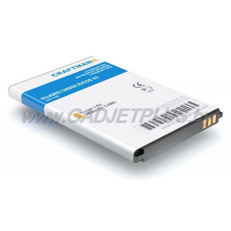 Huawei U8800 IDEOS X5 1400 mAh AKБ Craftmann
