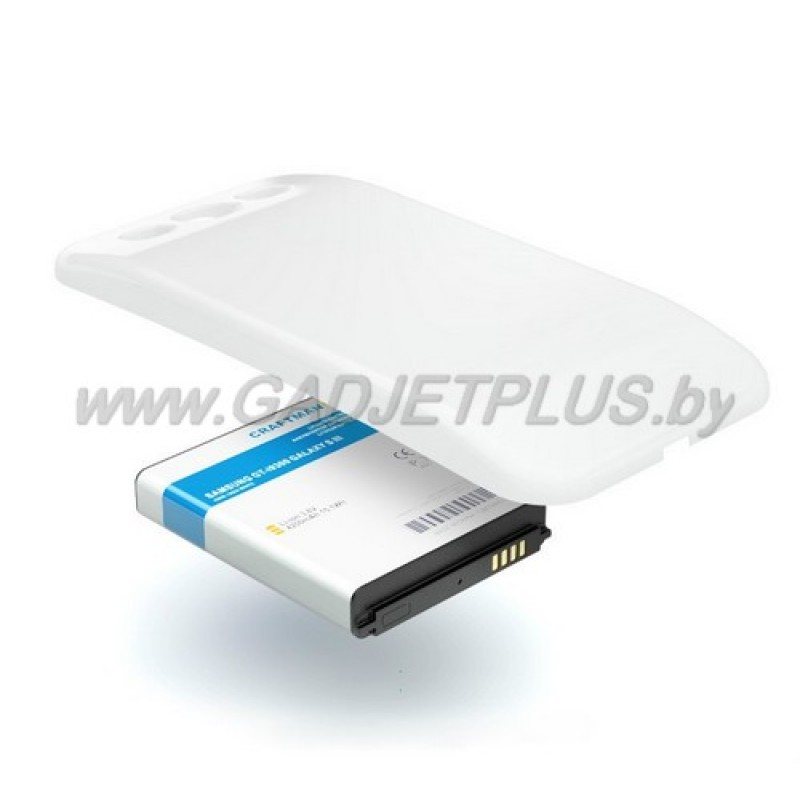 Samsung GT-i9300 Galaxy S IIII 4200 mAh White АКБ КПК Craftmann белый