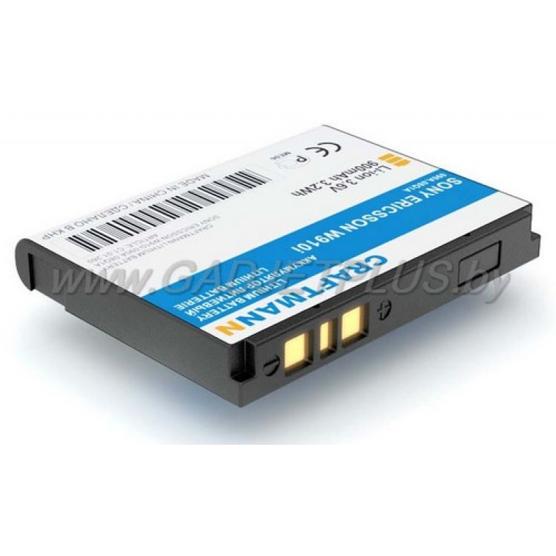 Sony Ericsson W910 W900 900 mAh AKБ Craftmann