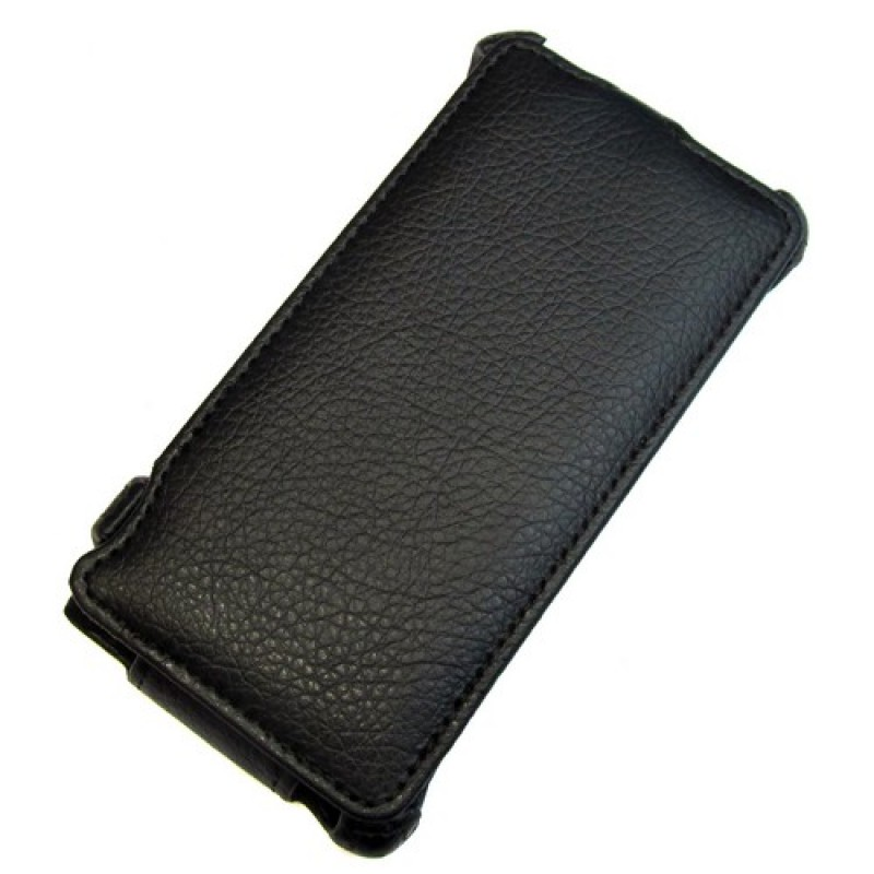 для Huawei Ascend G6 Чехол-блокнот Gecko чёрный