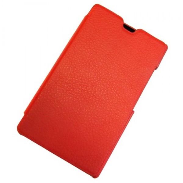 для Nokia X2 Dual SIM Чехол-книга Armor красный