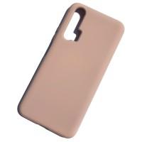 Чехол Silicone Case для Huawei Honor 20 Pro, розовый песок