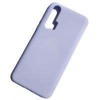 Чехол Silicone Case для Huawei Honor 20 Pro, сирень