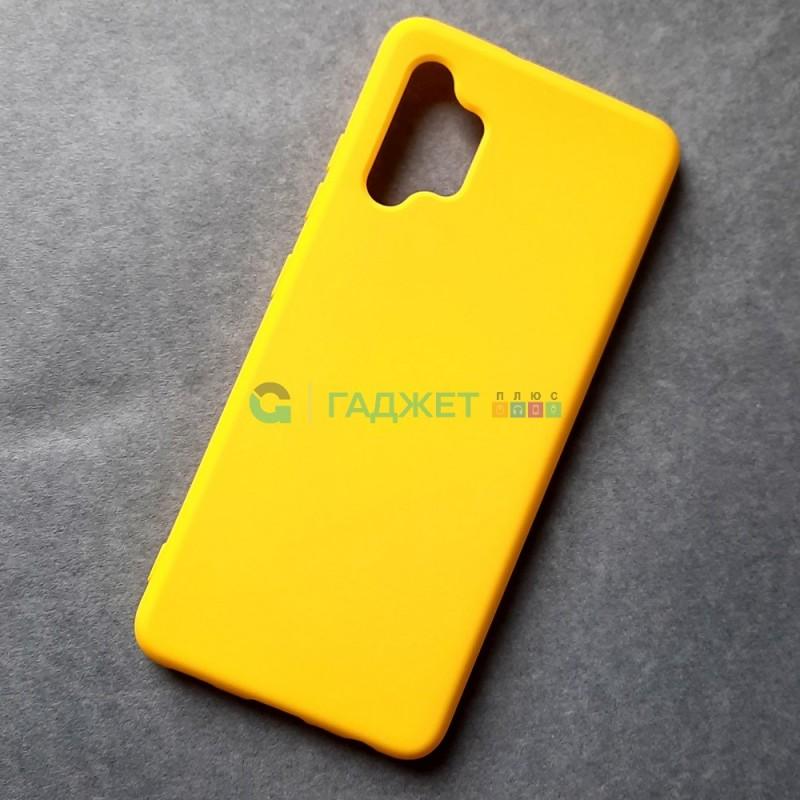 Силиконовый чехол для Samsung A32 / A325 / 4G, желтый