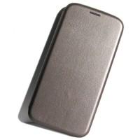 Чехол-книжка для Xiaomi Mi A2 Lite / Redmi 6 Pro, Magnetic Flip Wallet, цвет серый