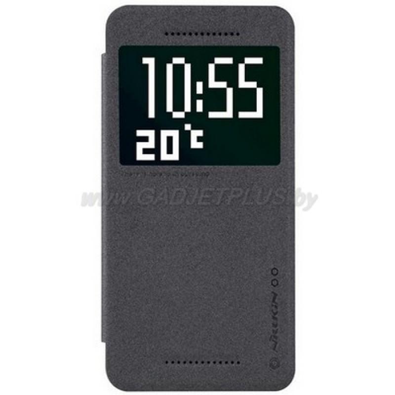 для HTC Desire 826 Чехол-книга с окном Nillkin Sparkle Series черный