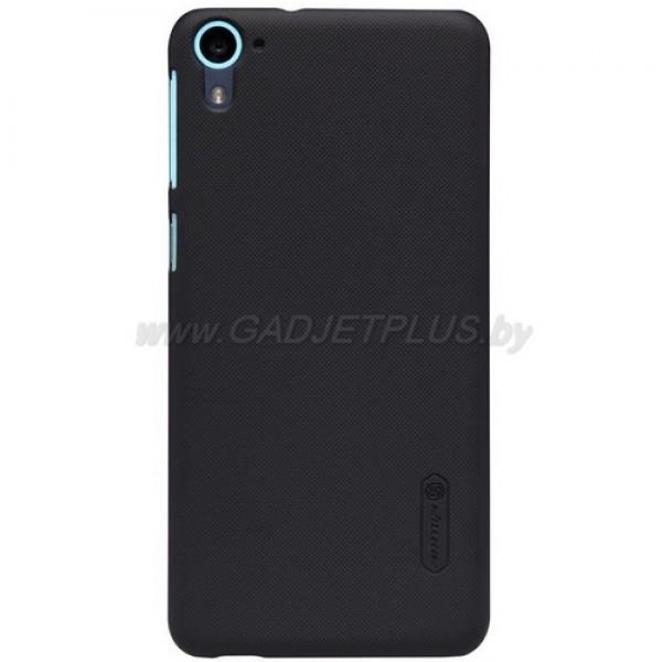для HTC Desire 826 Чехол-накладка + пленка Nillkin Super Frosted Shield черный