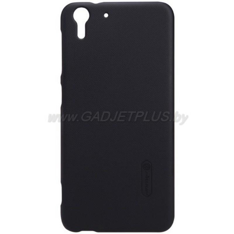 для HTC Desire EYE M910X Чехол-накладка + пленка Nillkin Super Frosted Shield черный