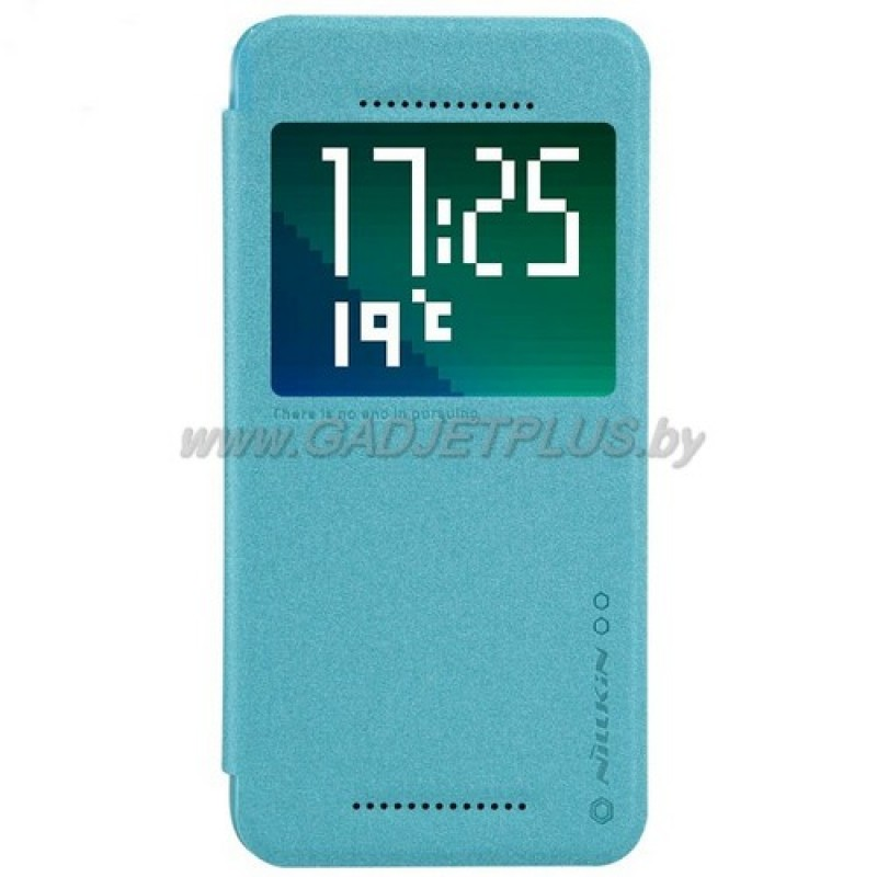 для HTC Desire Eye M910X Чехол-книга с окном Nillkin Sparkle Series голубой