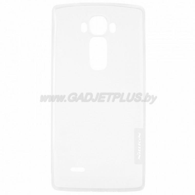 для LG G Flex 2 H959 силиконовый чехол Nillkin прозрачно-белый