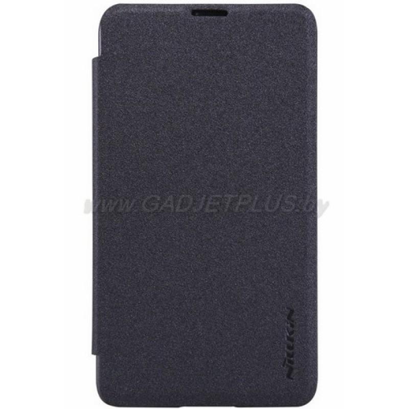 для Nokia Lumia 430 Чехол-книга Nillkin Sparkle Series черный