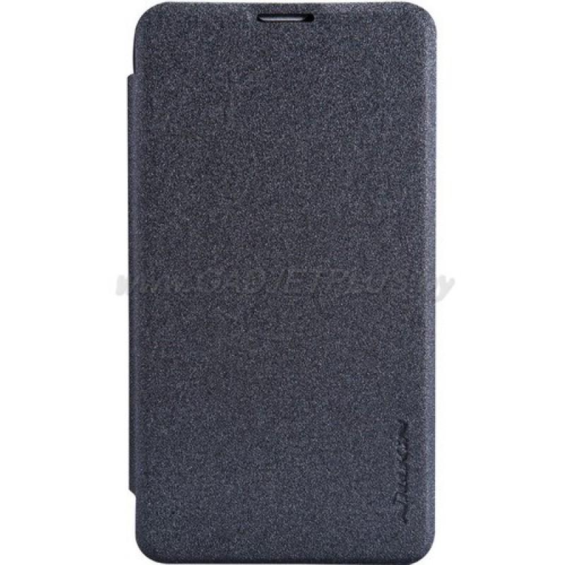 для Nokia Lumia 530 Чехол-книга Nillkin Sparkle Series черный