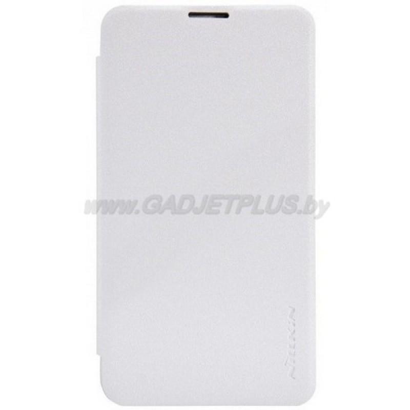 для Nokia Lumia 530 Чехол-книга Nillkin Sparkle Series белый