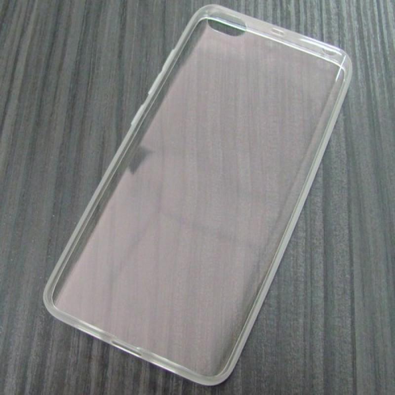 для Xiaomi Mi5 / M5 Силиконовый чехол-накладка AntiSlip прозрачный