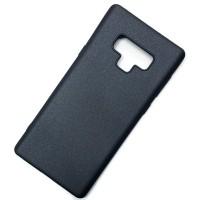 Для Samsung Galaxy Note 9 матовый силиконовый чехол-накладка X-Level серия Guardian черный