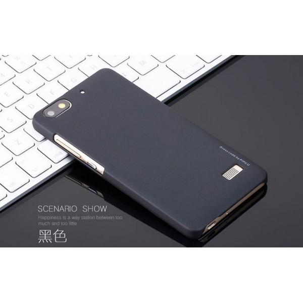 для Huawei Honor 4C Пластиковый чехол-накладка Pipilu черный