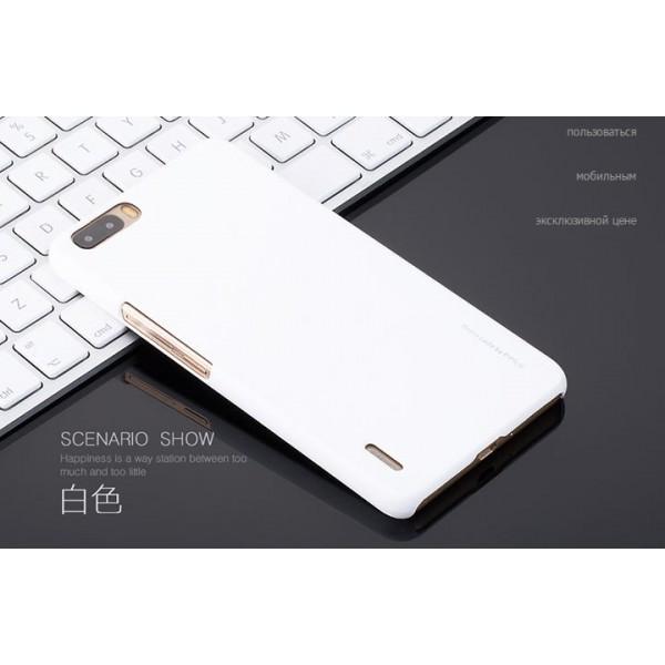 для Huawei Honor 6 Plus Пластиковый чехол-накладка Pipilu белый
