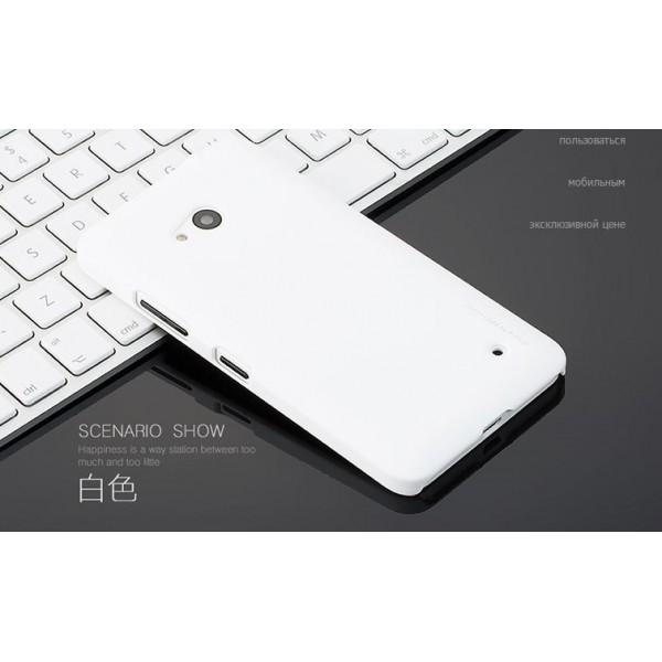 для Microsoft Lumia 640 Пластиковый чехол-накладка Pipilu белый