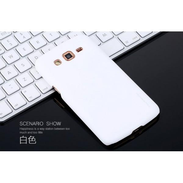 для Samsung Z1 (Z130H) Чехол-накладка X-level серия Metallic белый