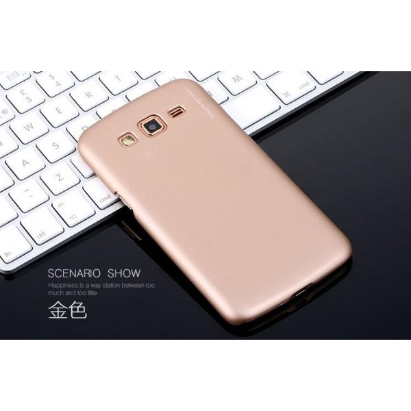 для Samsung Z1 (Z130H) Чехол-накладка X-level серия Metallic золотой