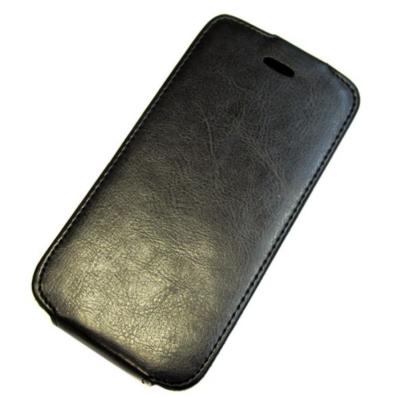 для Huawei Ascend G630 Чехол-блокнот Experts Slim Flip Case чёрный