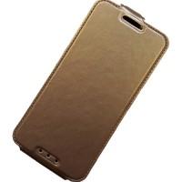 для HTC Desire 626G чехол-книжка с силиконовым основанием Experts золотой