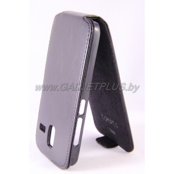 для Lenovo S580 чехол-блокнот Experts Slim Flip Case, чёрный