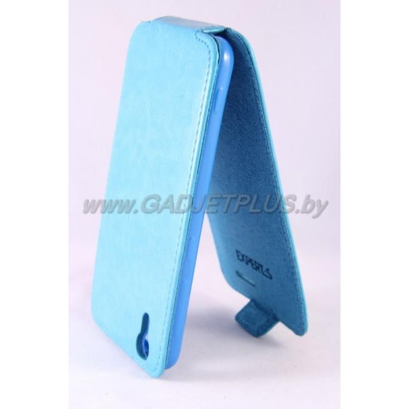 HTC Desire EYE M910X чехол-блокнот Experts Slim Flip Case, цвет голубой