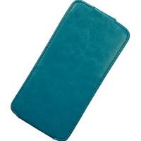 HTC One mini 2 чехол-блокнот EXPERTS Slim Flip Case, голубой
