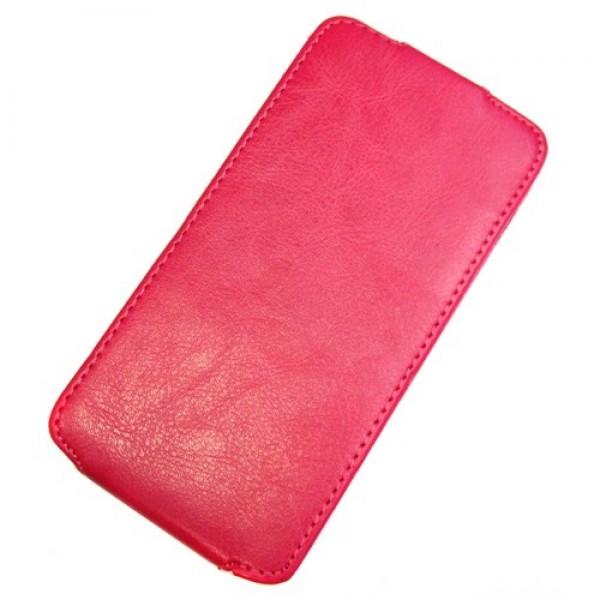 для Huawei Ascend G6 Чехол-блокнот Experts Slim Flip Case малиновый