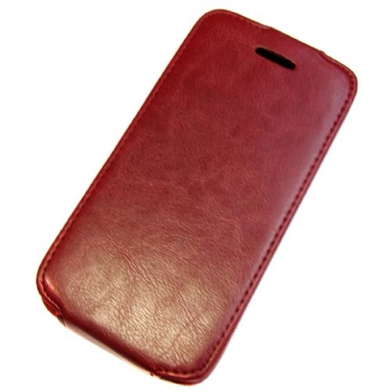 для Huawei Ascend G620s Чехол-блокнот Experts Slim Flip Case красный