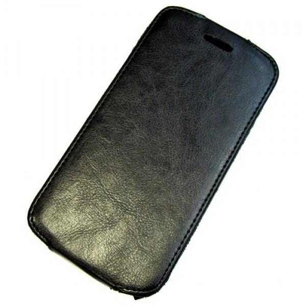 для Huawei Ascend G730 Чехол-блокнот Experts Slim Flip Case черный