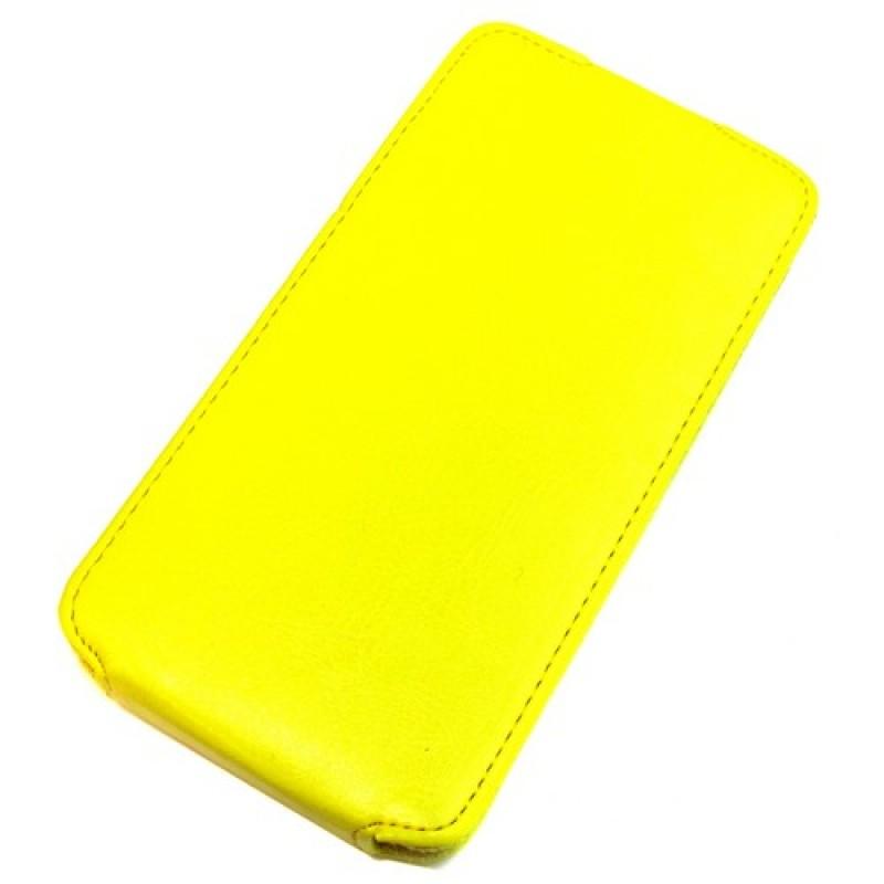 для Huawei Honor 3C Чехол-блокнот Experts Slim Flip Case желтый
