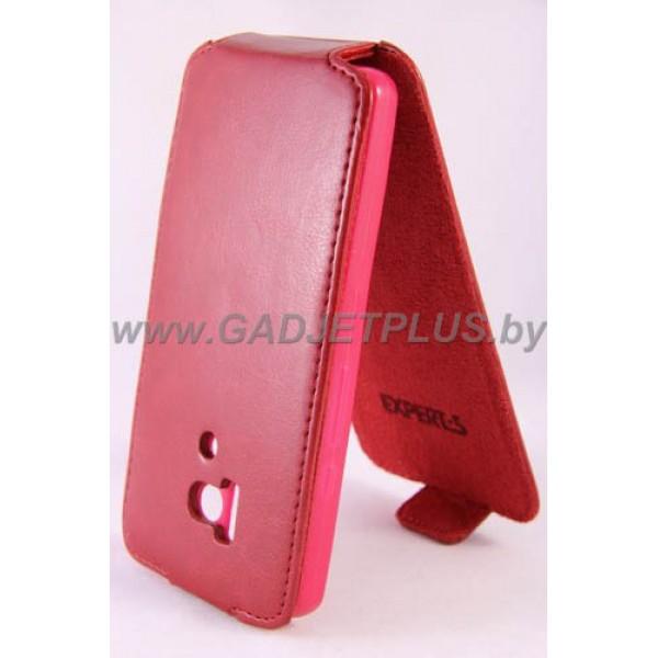 для Huawei Honor 3 Чехол-блокнот Experts Slim Flip Case красный