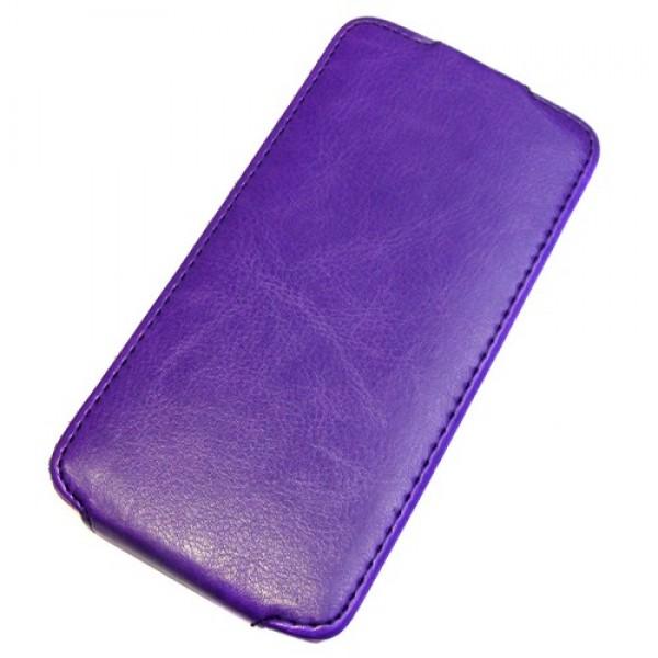 для Huawei Ascend P2 Чехол-блокнот Experts Slim Flip Case фиолетовый