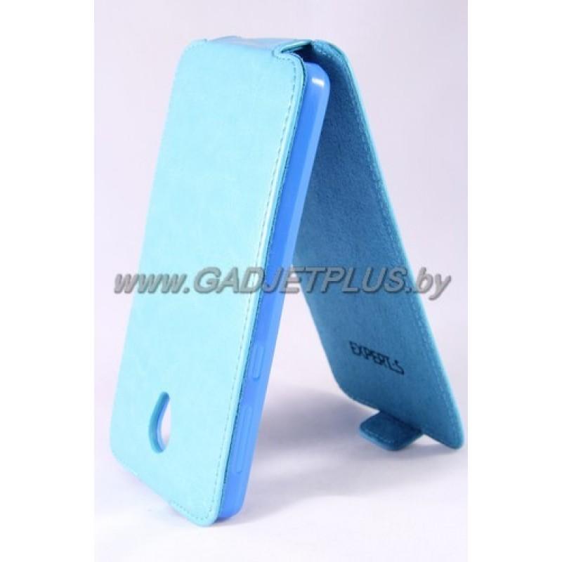 Lenovo S860 чехол-блокнот Experts Slim Flip Case, бирюзовый