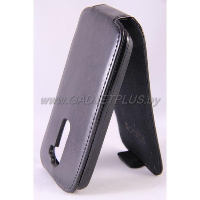 для LG G2 Mini (D618) Чехол-блокнот Experts Slim Flip Case черный