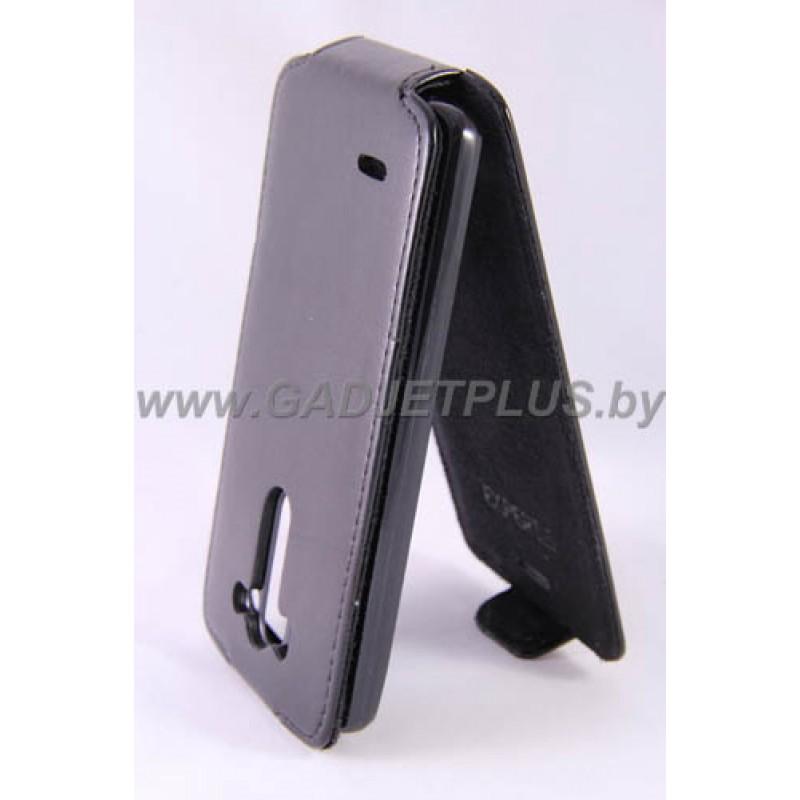 для LG G3 (D855) Чехол-блокнот Experts Slim Flip Case черный