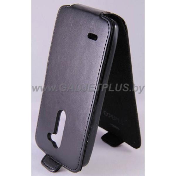 для LG L Bello (D335) Чехол-блокнот Experts Slim Flip Case черный