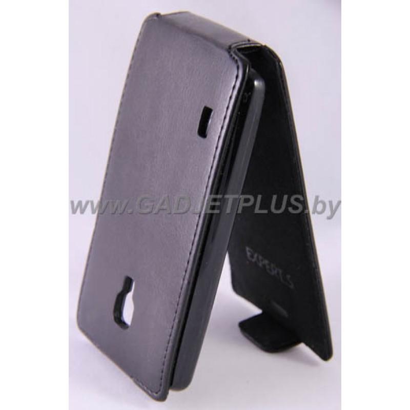 для LG Optimus L7 II (P713) Чехол-блокнот Experts Slim Flip Case черный