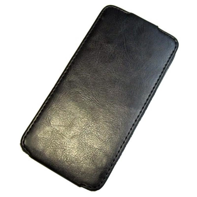 для LG Nexus 5 (D821) Чехол-блокнот Experts Slim Flip Case черный