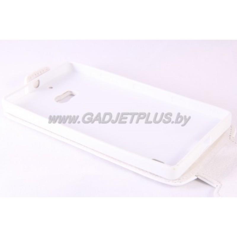 для Nokia Lumia 930 Чехол-блокнот Experts Slim Flip Case белый