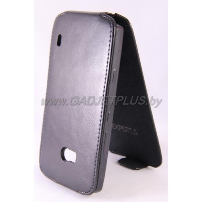 для Nokia Lumia 930 Чехол-блокнот Experts Slim Flip Case чёрный