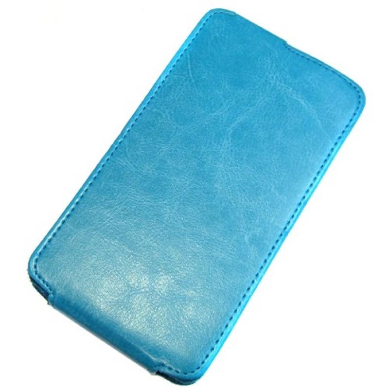 для Nokia XL Чехол-блокнот Experts Slim Flip Case голубой
