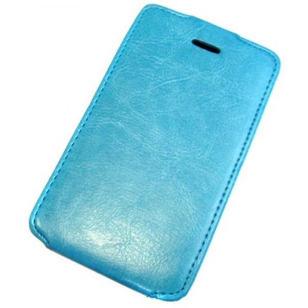 для Nokia X2 Dual Sim Чехол-блокнот Experts Slim Flip Case голубой