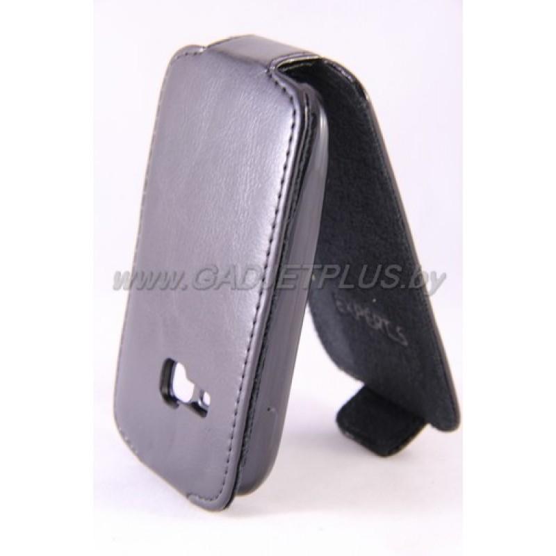 Samsung S6310 Young Duos чехол-блокнот Experts Slim Flip Case, чёрный