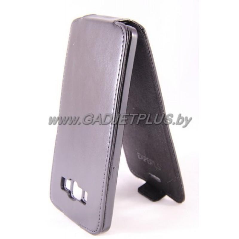 "Samsung Galaxy A7 A700F чехол-блокнот Experts ""Slim Flip Case"", чёрный"